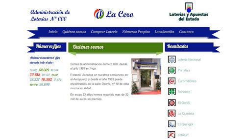 Administración de Lotería La Cero Vigo