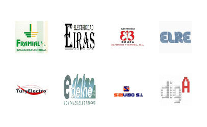 Electricidad Bouza - Edelne - Sielvigo - Elre - Elecricidad Eiras - TuryElectro - Digalicia - Framial