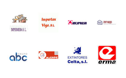 Magope - Inmago - Impertex - Impermeba - Incipresa - Grupo ABC - Extintores Celta - Erma